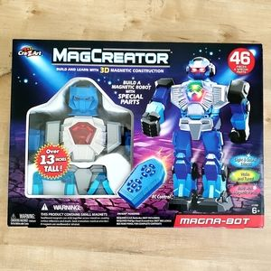 NEW Cra-Z-Art Magcreator 3D Magnetic Construction